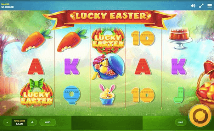 Lucky Easter Red Tiger Slot