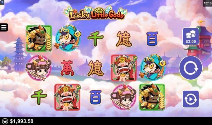 Lucky Little Gods Microgaming Slot