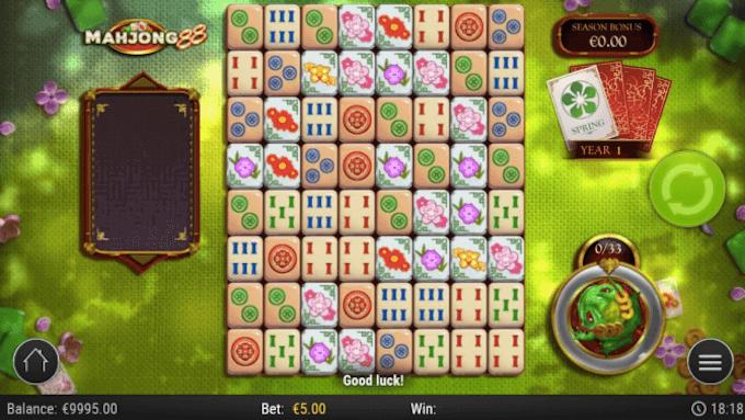 Mahjong 88 Play'n GO Slot