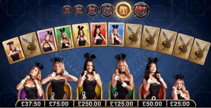 Playboy Slot Match Bonus Feature Microgaming