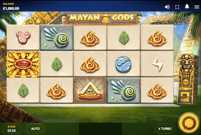 Mayan Gods Red Tiger