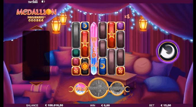 Medallion Megaways Slot Fantasma