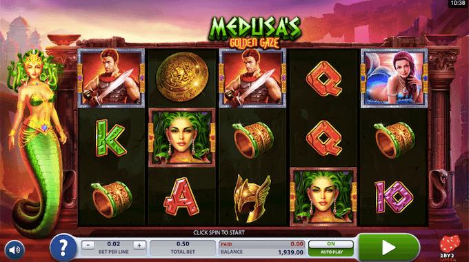 Medusas Golden Gaze 2 by 2 Gaming