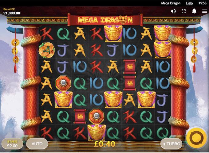 Mega Dragon Red Tiger Slot