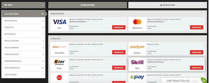 MegaPari Payment Gateways