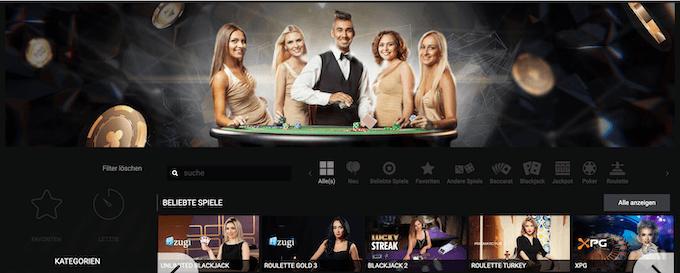 MegaPari Live Casino