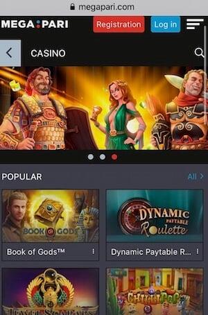 MegaPari Mobile App
