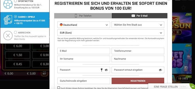MegaPari Registry