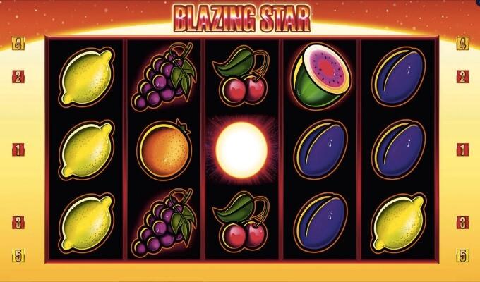 Merkur Gaming Blazing Star Slot