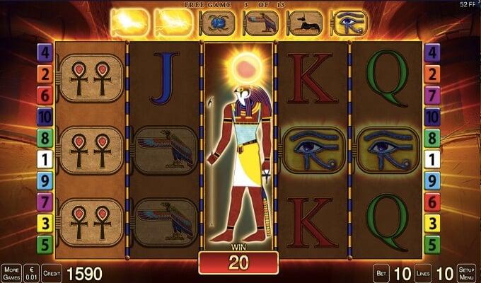 Merkur Gaming Eye of Horus Slot