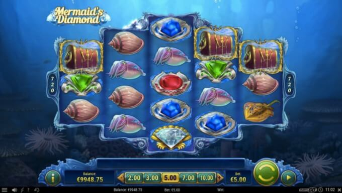 Mermaid's Diamont slot Play 'N GO
