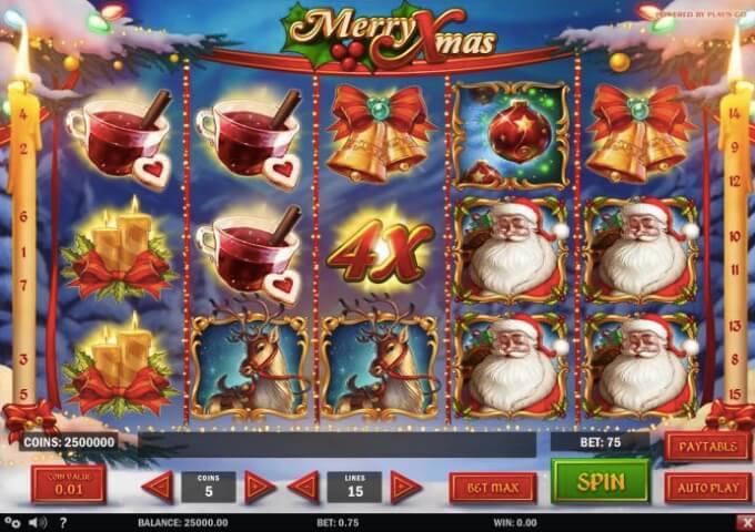 Merry Xmas Play'n GO Slot