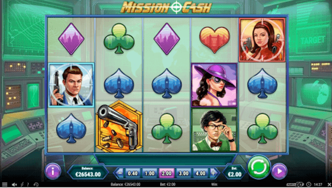 Mission Cash Play'n GO