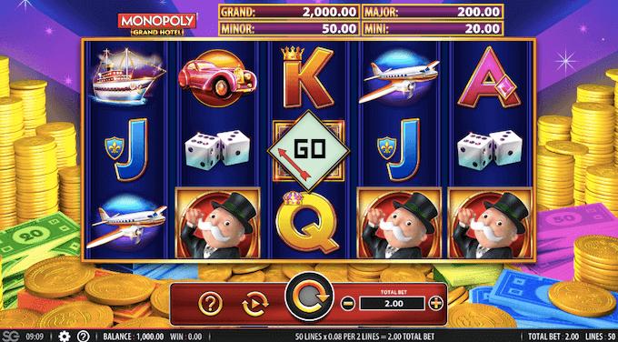 Monopoly Grand Hotel WMS Slot