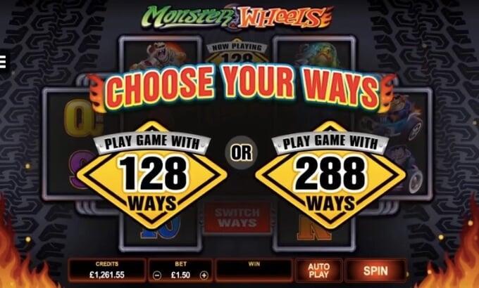 Monster Wheels Microgaming Slot