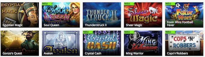 mr.play Casino Spiele