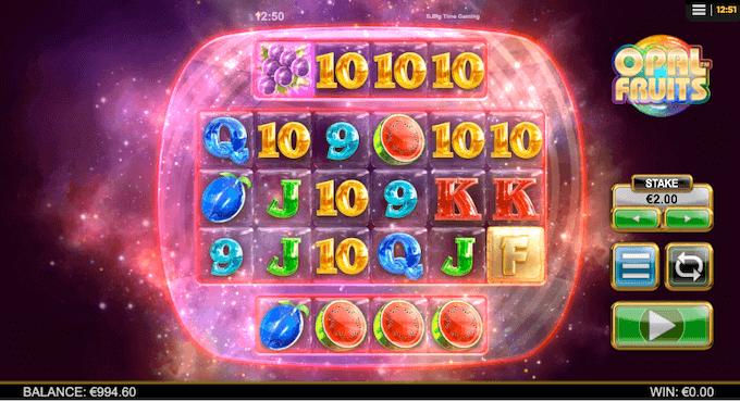 Opal Fruits Big Time Gaming