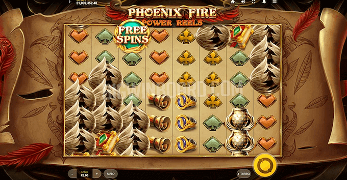 Phoenix Fire Power Reels Slot