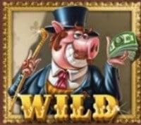 Piggy Riches Slot Wild Symbol