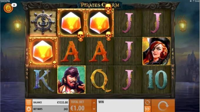 Pirate's Charm Quickspin Slot