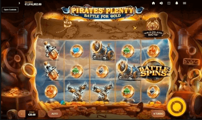 Pirate's Plenty: Battle for Gold Slot