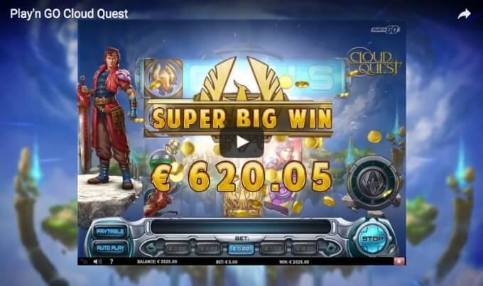 cloud quest play n go slot