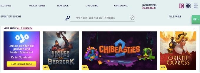 Play OJO Casino Spiele