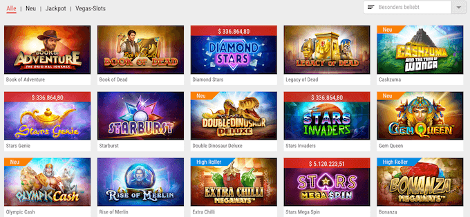 Slot Spiele im PokerStars Casino