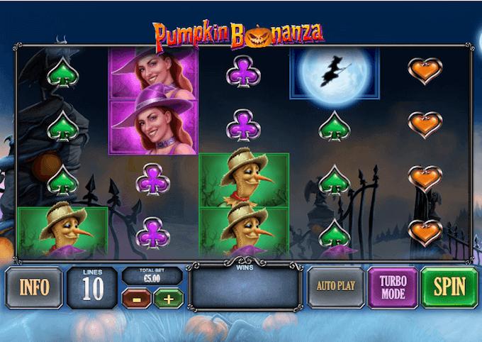 Pumpkin Bonanza Playtech Slot