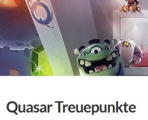 Quasar Gaming Treuepunkte
