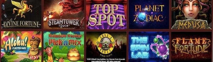 Queen Vegas Online Casino Spiele