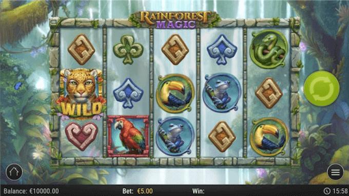 Rainforest Magic Play'n GO Slot