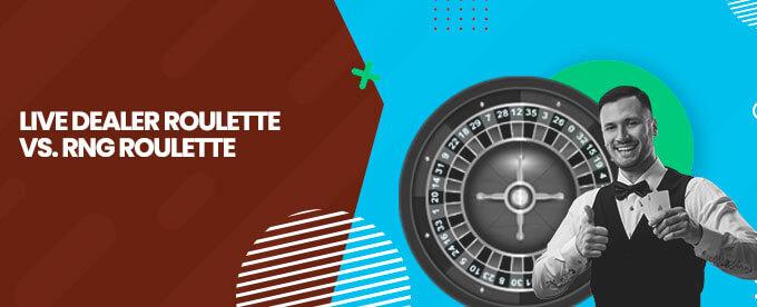 Live Dealer Roulette RNG Roulette