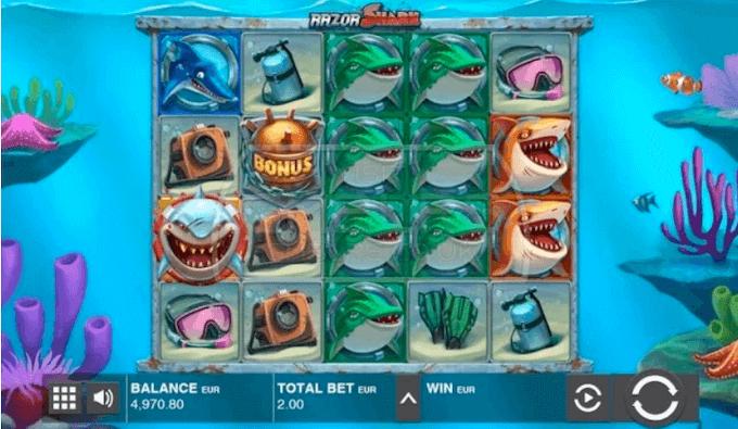 Razor Shark Push Gaming