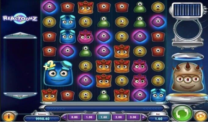 Reactoonz Slot Play'n GO
