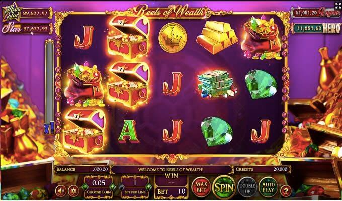 Reels of Wealth Betsoft Slot