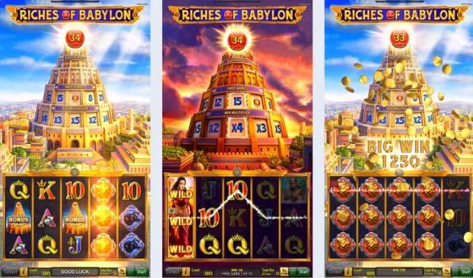 Riches of Babylon Novomatic Slot