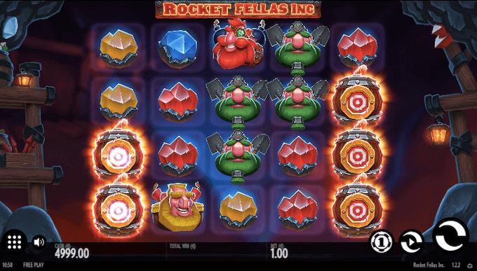 Rocket Fellas Thunderkick Slot