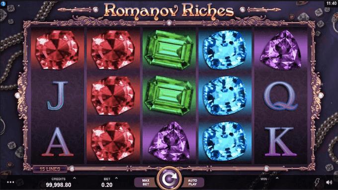 Romanov Riches Microgaming Slot