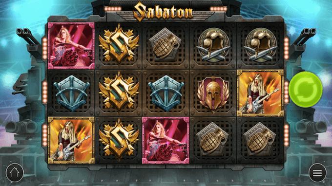 Sabaton Play'n GO Slot