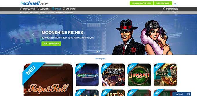 Casino ohne Anmeldung plus Bonus