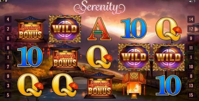 Serenity Microgaming Slot