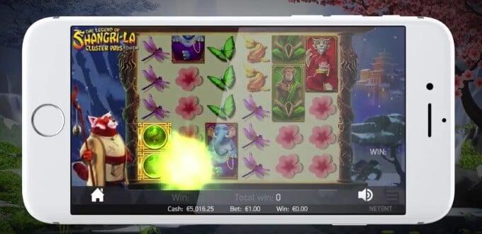 The Legend of Shangri-La Cluster Pays Slot NetEnt