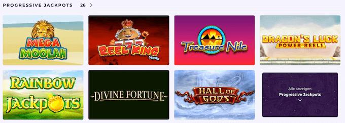 Slot Planet Casino Jackot Spiele