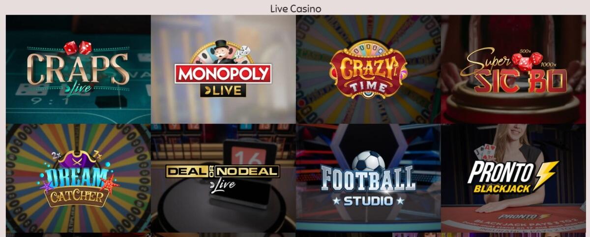 Slothino Live Casino