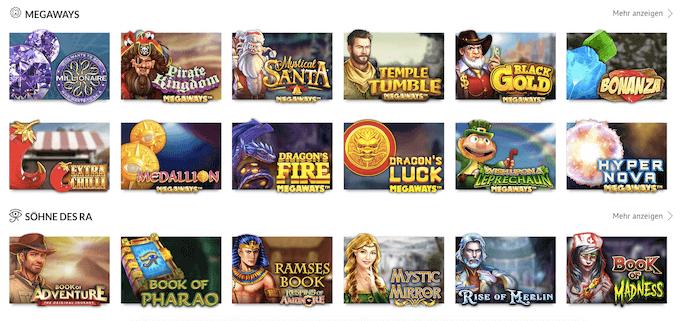 Slots Million Casino Slotmaschinen