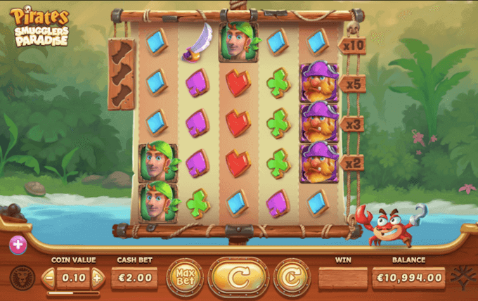 Smugglers Paradise Slot Yggdrasil