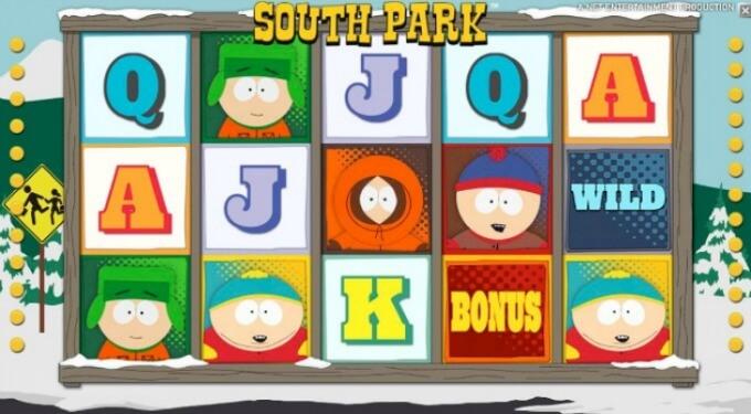 South Park Slot NetEnt Screenshot