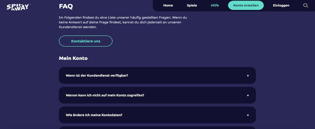 Spin Away FAQs