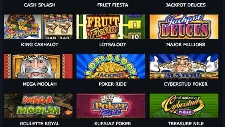 Spin Palace Online Casino Slots